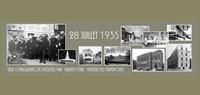 28 juillet 1935 inauguration d`un pavillon de l`enfance, d`un hôpital-hospice, d`un collège et une école primaire supérieure, un parc public